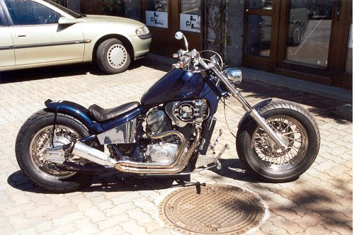 honda shadow vt 600 1603