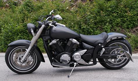 Yamaha XVS 1300 Midnight Star Dark