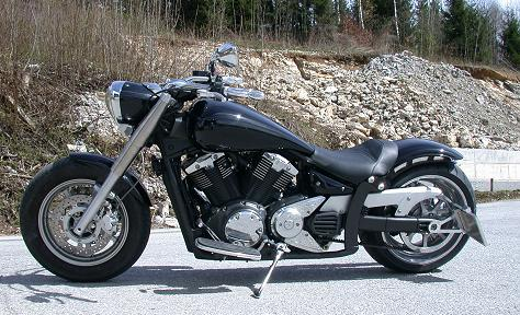 Yamaha Xvs Midnight Star